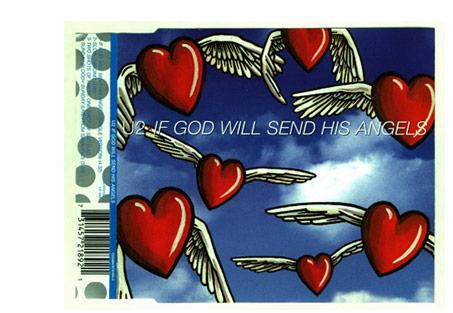 if god willsend his angels, u2